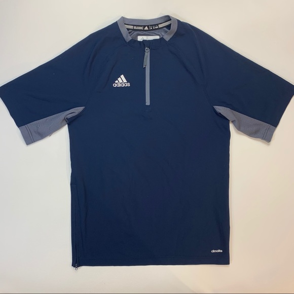 adidas Other - Adidas Climalite Half ZIP Athletic Half Sleeve XS